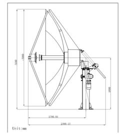 POAM Radio telescope