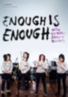 This Image is Poster of the play Enough Is Enough