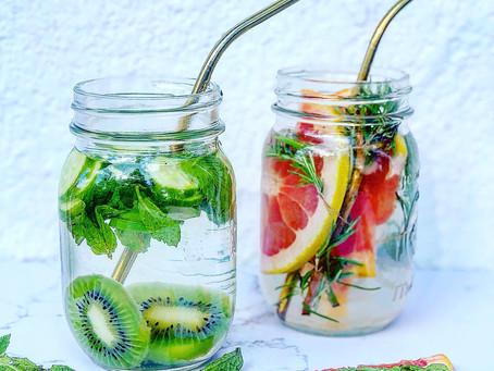 Herb & Fruit Infused Water 2 Ways