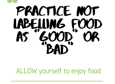 "Why We Shouldn't Label Foods As ""Good"" or ""Bad"""