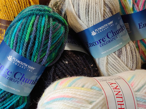 A love letter to Plymouth Encore Chunky Yarn