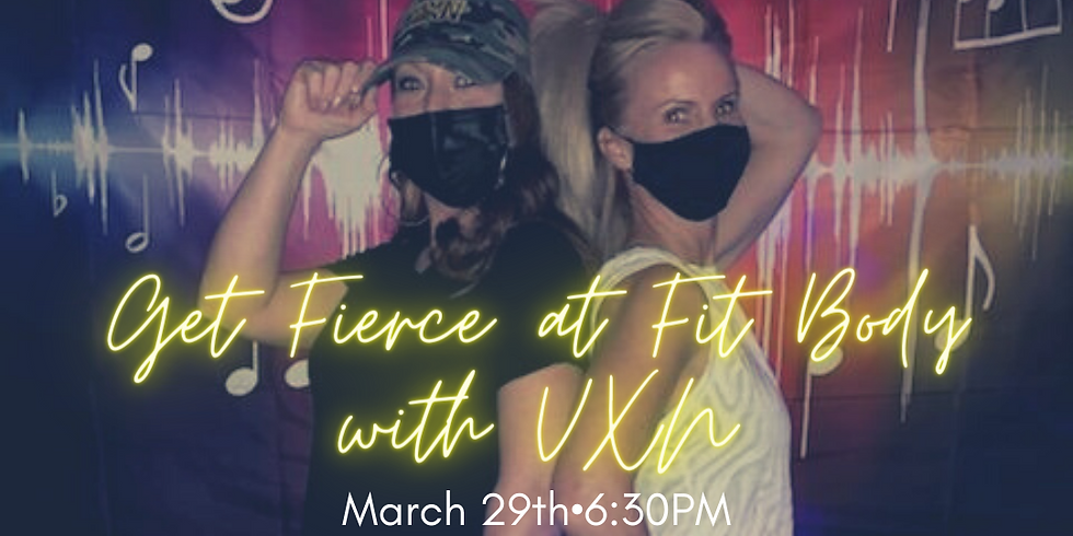 VXN-FIT BODY PRIVATE EVENT ONLY