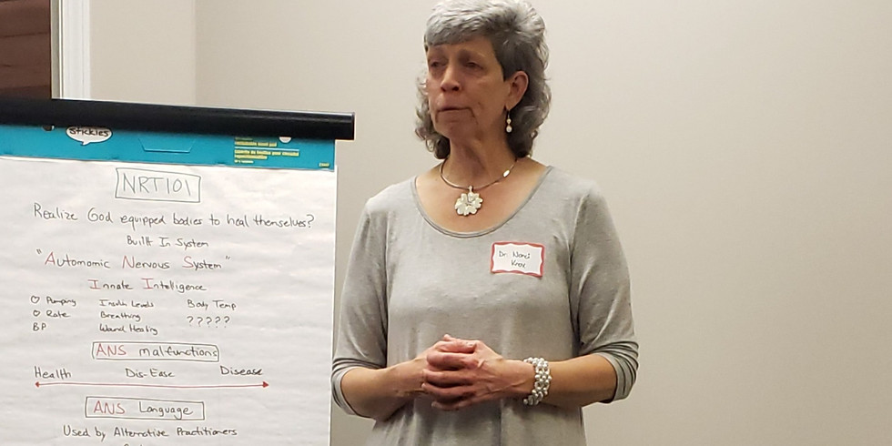 NRT101 with Dr. Nancy Knox of Knox Nutrition and Chiropractic Care