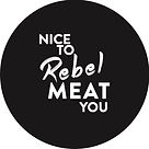 RebelMeat_Sticker_50x50 _ nice to rebel