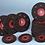 Thumbnail: 5 Disques Semi-Flexibles Ø 115 Carbure de Silicium