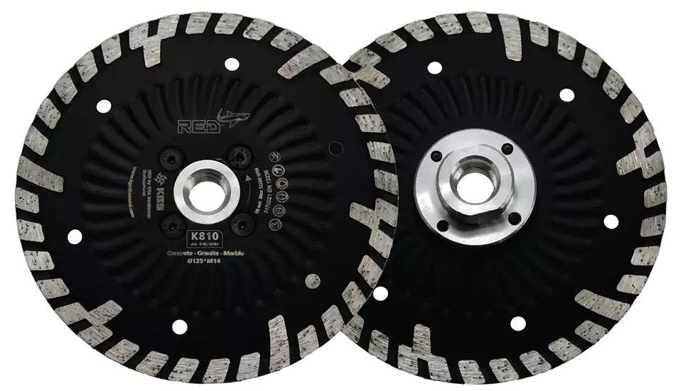 Disque Diamant KGS RED K810 Ø 115 à 230 mm
