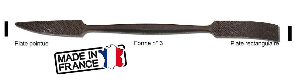 Rifloir à Marbre Plate pointue / Plate rectangulaire