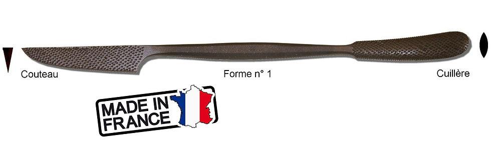 Rifloir à Marbre Couteau / Cuillère