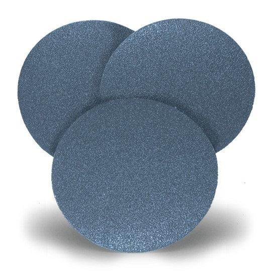 50 Disques Velcro SAIT Ø 115 Zirconium