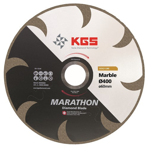 Disque DiamantKGS Marathon GL Ø 300 à 400 mm