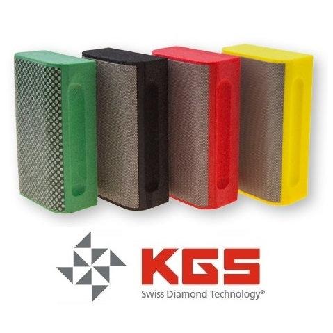 Cale à Poncer Diamantée KGS Arrondie 90x55 mm