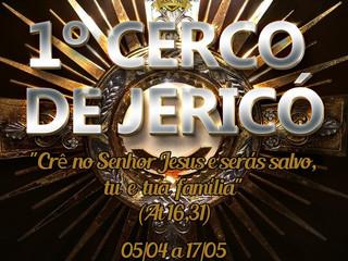 Paróquia Santa Teresinha terá primeiro Cerco de Jericó em abril