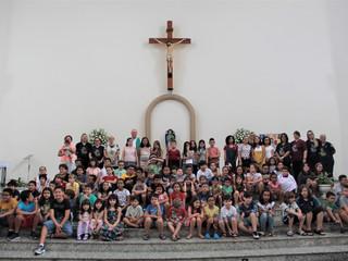 Atividades da Catequese Infantil se iniciaram no fim de semana