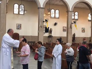 Missa da Saúde é celebrada no Dia de Nossa Senhora de Lourdes