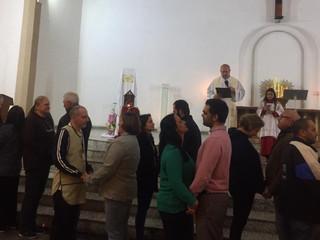 Missa de quinta-feira recebe casais para Renovação Matrimonial