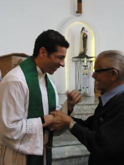 Acolhida Padre Tiago Silva