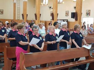 Pastoral da Saúde participa de missa às segundas terças-feiras