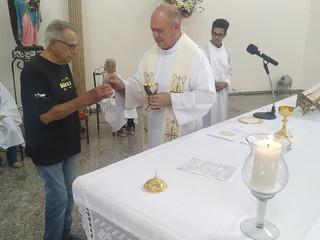 Sr. Alcides Braghetto: o primeiro coroinha da paróquia