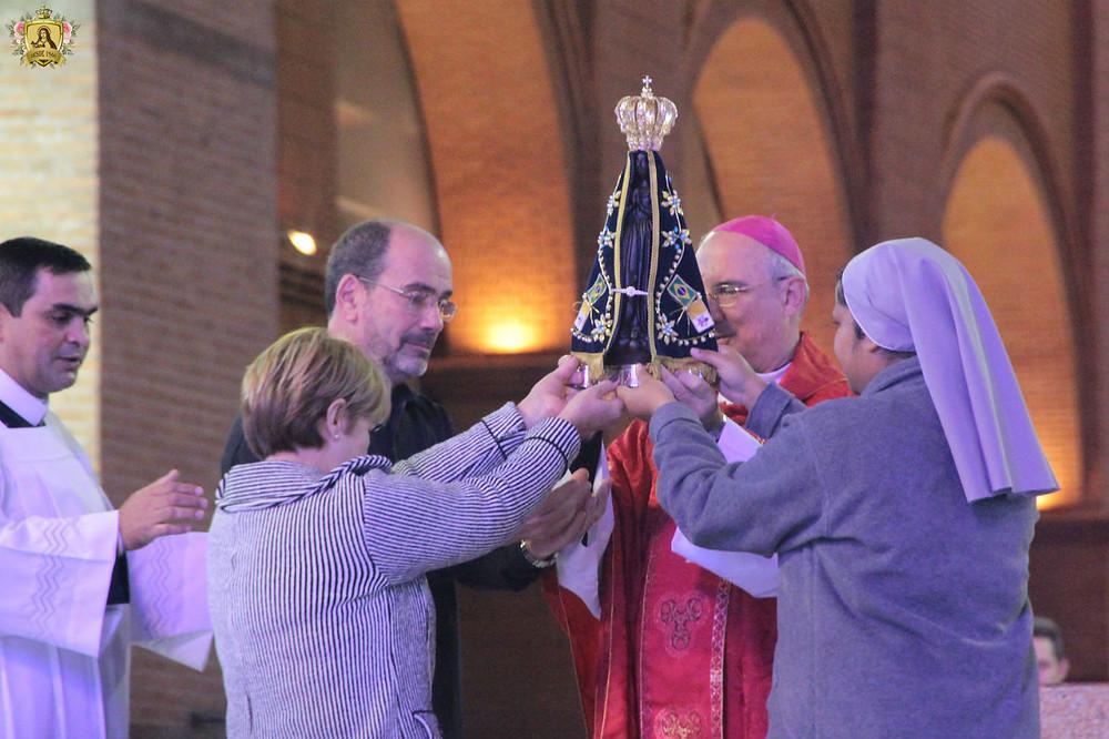 Diocese de Santo André busca a Imagem Peregrina em Aparecida