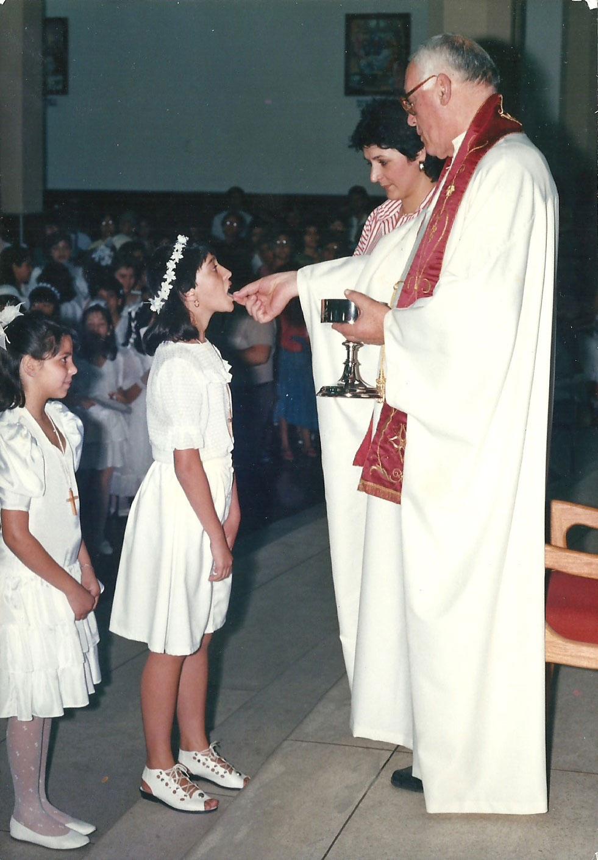 1988_-_Primeira_Comunhão_-_Pe._Luiz