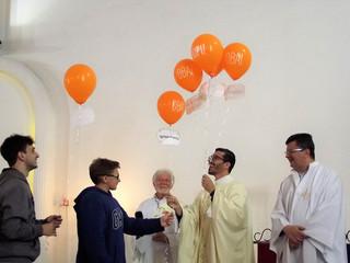 Comunidade festeja 9º aniversário de ordenação do Padre Tiago