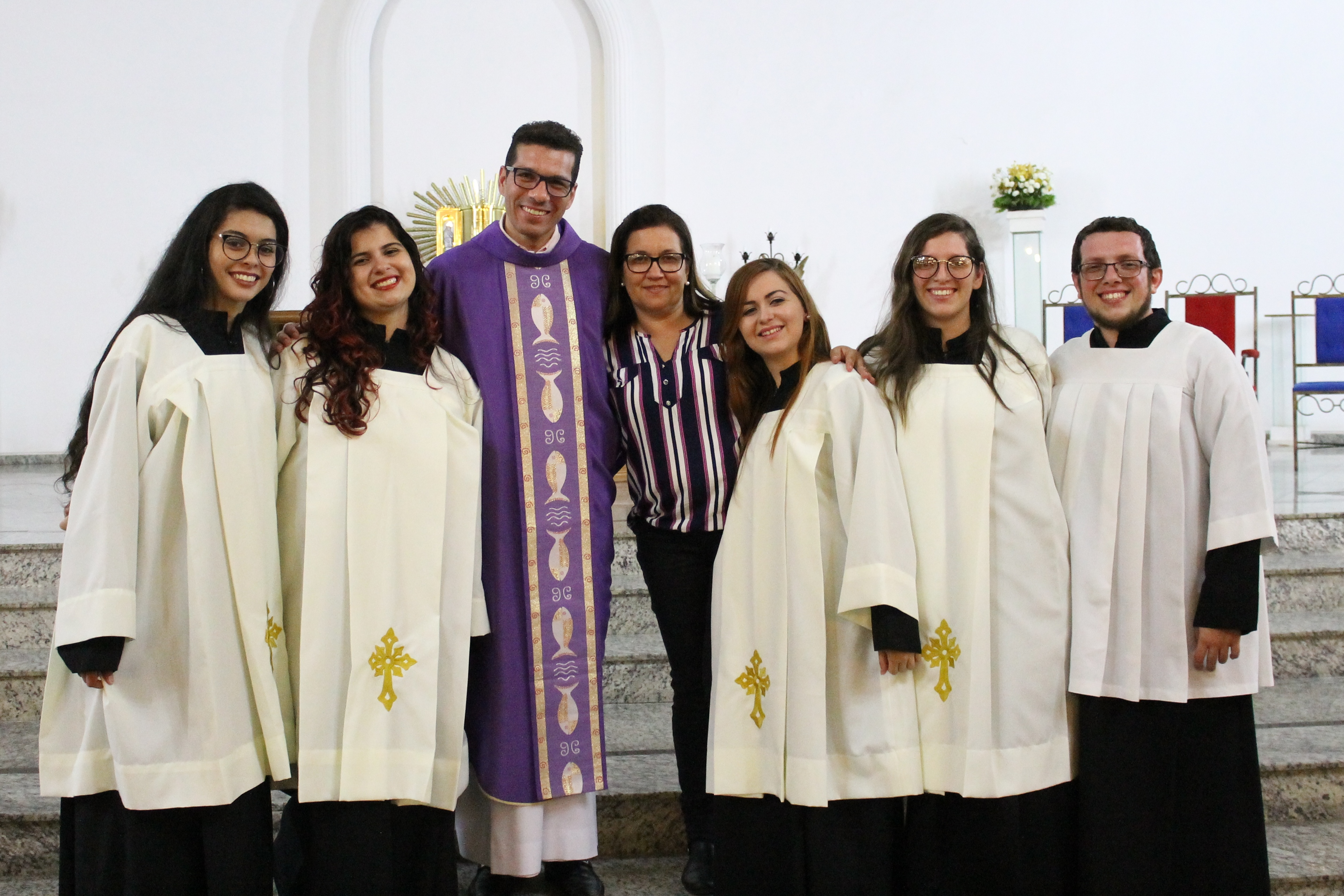 Cerimoniários Paróquia Santa Teresin