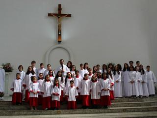 Novos coroinhas e pré-cerimoniários são instituídos em nossa paróquia
