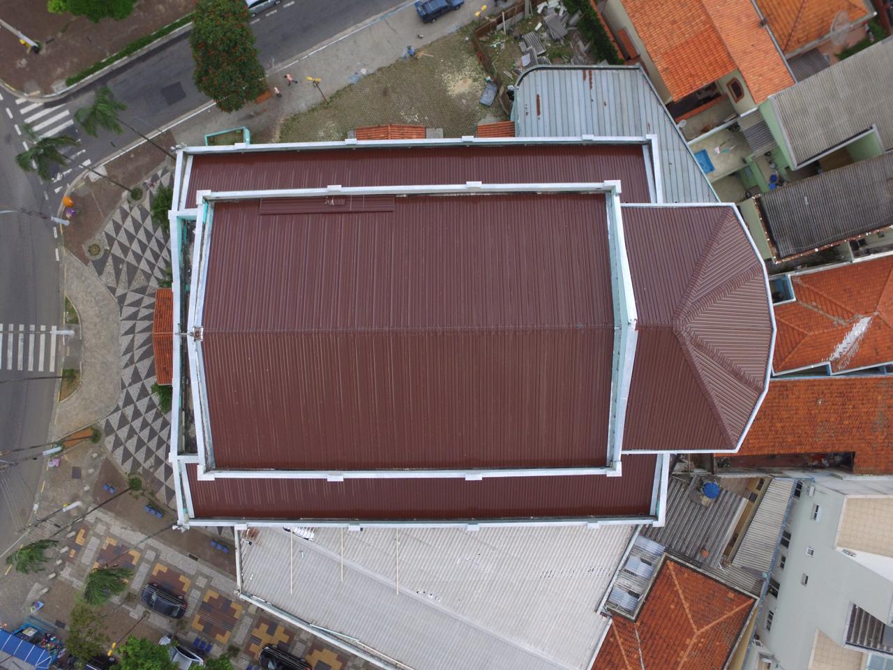 Paróquia Santa Teresinha telhado