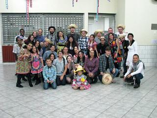 Confraternização dos voluntários da Quermesse celebra sucesso da festa