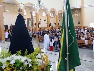 Comunidade reúne-se no feriado para celebrar Nossa Senhora Aparecida