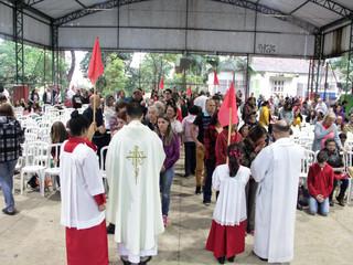 Missa campal abre os festejos juninos