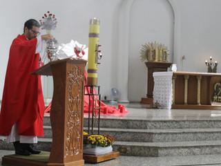 Na Festa de Pentecostes, nossa comunidade celebra momentos especiais