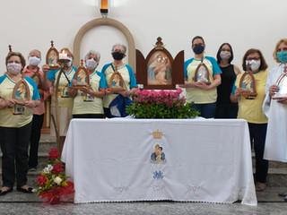 Missa pelos 22 anos de existência do Movimento da Mãe Rainha na Paróquia Santa Teresinha
