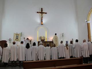 No dia de São Benedito, comunidade celebra Missa em Ação de Graças pelos Ministros Instituídos e Ren