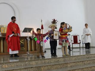 """Missa de Entrega da Quermesse: """"Tudo começa na Santa Missa"""""""