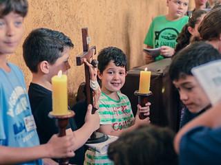 Setor Kids realiza a Via-Sacra das Crianças