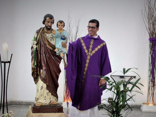 Comunidade celebra Missa em louvor a São José