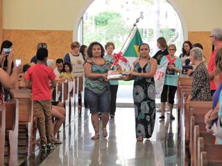 Comunidade celebra missa especial com as famílias assistidas pelos Vicentinos