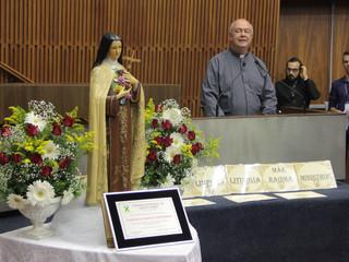 Homenagem aos 80 anos da Paróquia Santa Teresinha na Câmara Municipal