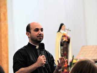 Padre Romeu conduz Manhã de Espiritualidade sobre o Advento