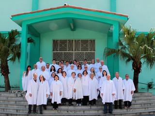 Diocese realiza missa de conferição e renovação dos ministérios extraordinários