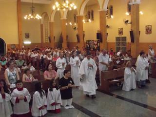 Paróquia Santa Teresinha celebra a chegada do Ano Novo