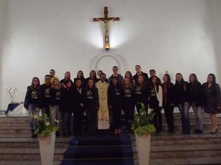 Formandos da UFABC celebram, em nossa paróquia, missa de ação de graças pela formatura