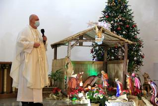 Confira como foi a Missa do Galo na Paróquia Santa Teresinha