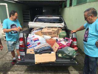 Vicentinos entregam doação de alimentos para Casa da Acolhida Santa Gemma