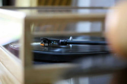 Plinthe platine vinyle