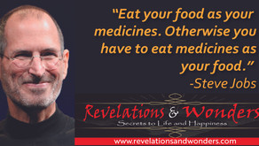 Eat Your Food As Medicines!