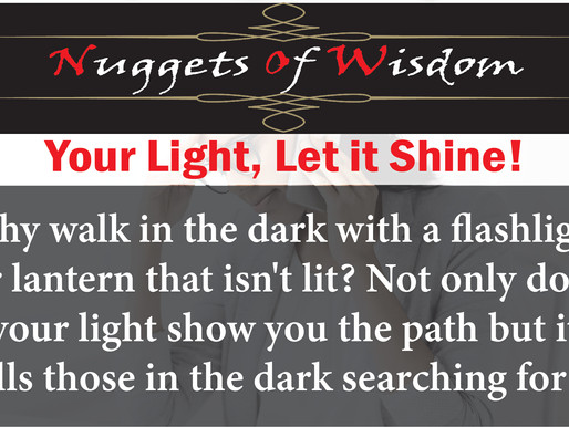 Those in the dark seek your light
