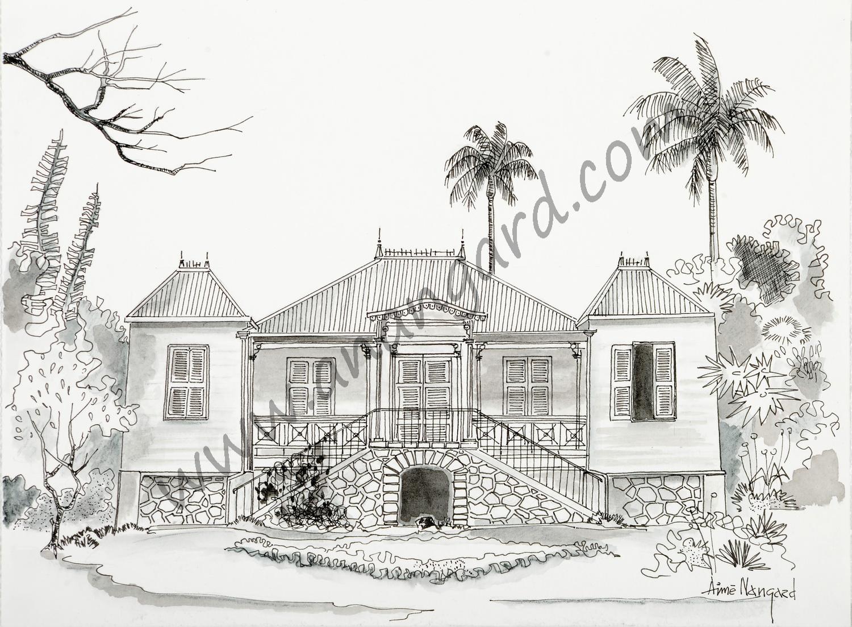 Maison calédonienne villa Célières