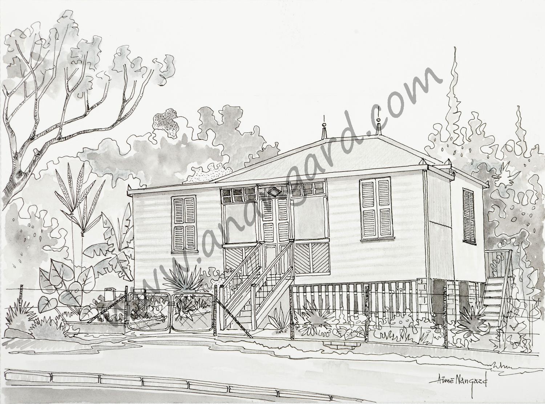 Maison calédonienne rue Faidherbe